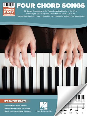 cover image of Four Chord Songs--Super Easy Songbook
