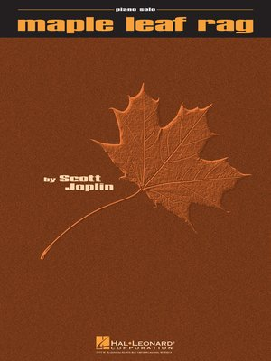 cover image of Maple Leaf Rag Sheet Music
