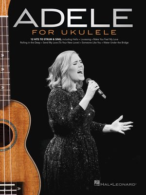 cover image of Adele for Ukulele