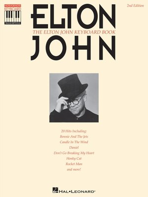 cover image of The Elton John Keyboard Book (Songbook)