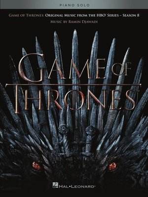 cover image of Game of Thrones Season 8 Songbook