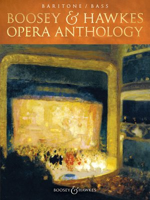 cover image of Boosey & Hawkes Opera Anthology--Baritone/Bass