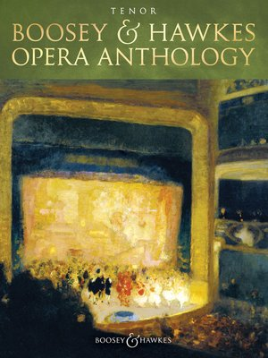 cover image of Boosey & Hawkes Opera Anthology--Tenor