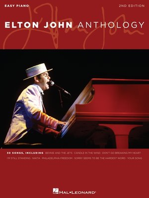 cover image of Elton John Anthology  (Songbook)