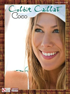 cover image of Colbie Caillat--Coco (Songbook)
