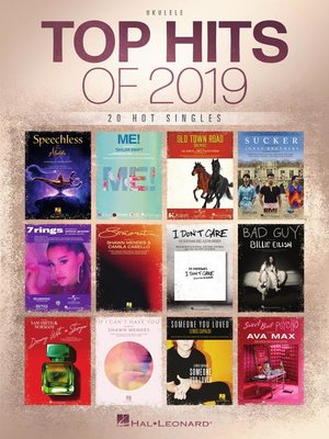 cover image of Top Hits of 2019 Ukulele Songbook
