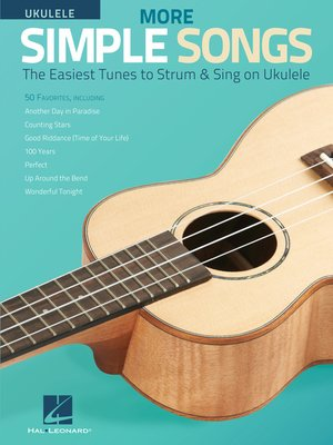cover image of More Simple Songs for Ukulele