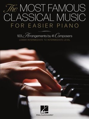 cover image of The Most Famous Classical Music for Easier Piano