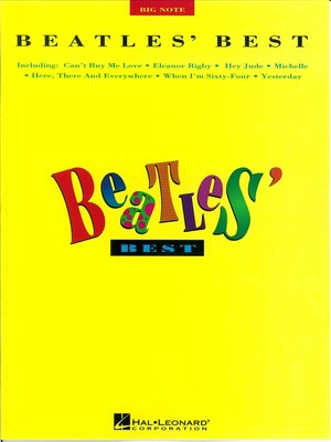 cover image of Beatles Best (Songbook)