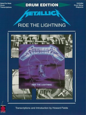 cover image of Metallica--Ride the Lightning (Drum Songbook)