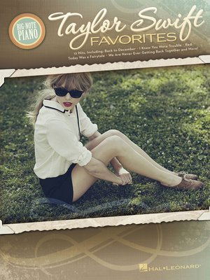 cover image of Taylor Swift Favorites (Songbook)