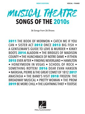 cover image of Musical Theatre Songs of the 2010s