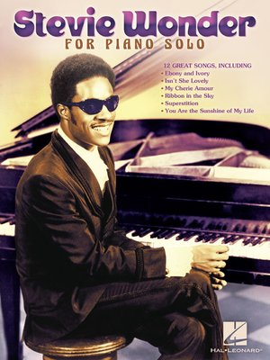 cover image of Stevie Wonder for Piano Solo (Songbook)