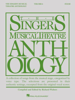 cover image of Singer's Musical Theatre Anthology--Volume 6
