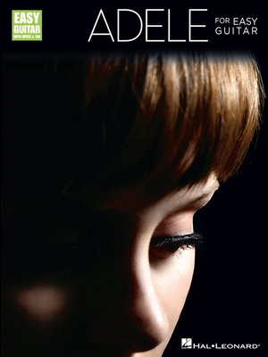 cover image of Adele for Easy Guitar (Songbook)