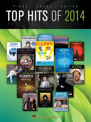 cover image of Top Hits of 2014 Songbook
