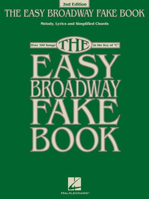 cover image of The Easy Broadway Fake Book