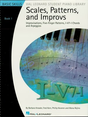 cover image of Scales, Patterns and Improvs--Book 1 (Music Instruction)