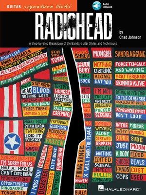cover image of Radiohead--Guitar Signature Licks
