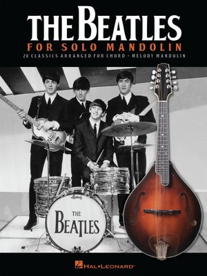 cover image of The Beatles for Solo Mandolin