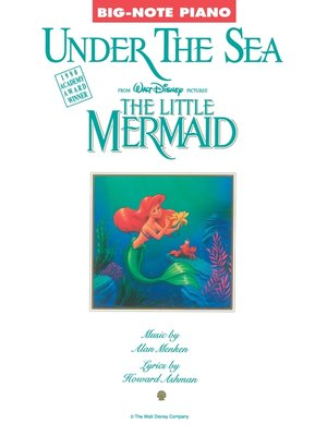 cover image of Under the Sea (from the Little Mermaid) (Sheet Music)