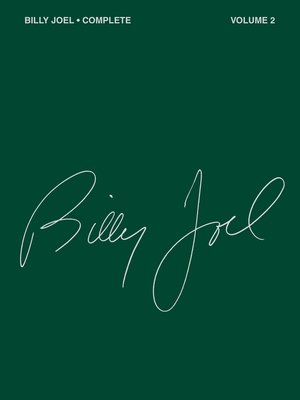 cover image of Billy Joel Complete--Volume 2 (Songbook)