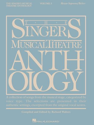 cover image of The Singer's Musical Theatre Anthology--Volume 3