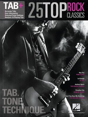 cover image of 25 Top Rock Classics--Tab. Tone. Technique.