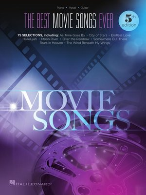 cover image of The Best Movie Songs Ever Songbook