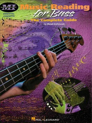 cover image of Music Reading for Bass--The Complete Guide (Music Instruction)