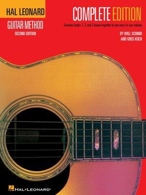 cover image of Hal Leonard Guitar Method, --Complete Edition