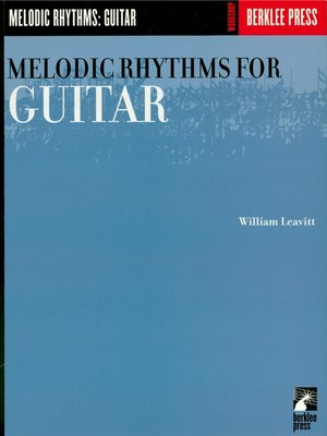 cover image of Melodic Rhythms for Guitar (Music Instruction)