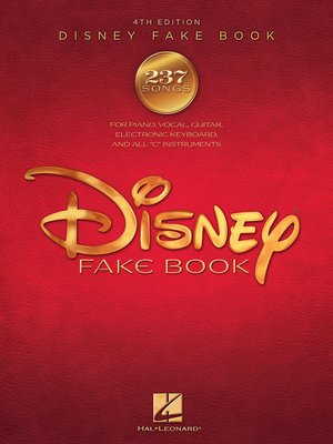 cover image of The Disney Fake Book