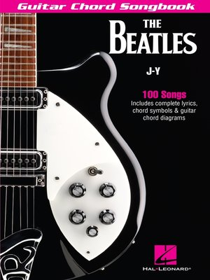 cover image of The Beatles Guitar Chord Songbook