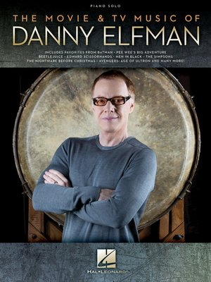 cover image of The Movie & TV Music of Danny Elfman