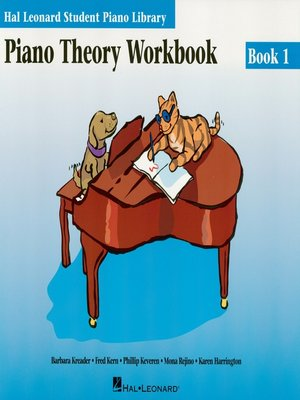 cover image of Piano Theory Workbook Book 1 (Music Instruction)
