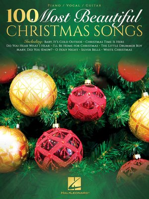 cover image of 100 Most Beautiful Christmas Songs