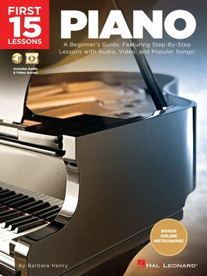 cover image of First 15 Lessons--Piano