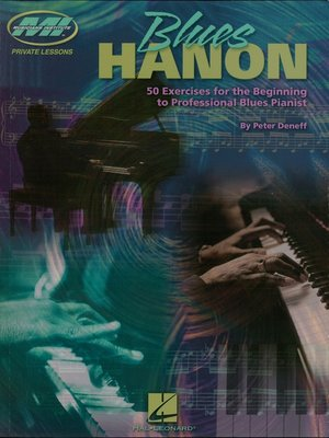 cover image of Blues Hanon (Music Instruction)