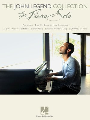cover image of The John Legend Collection for Piano Solo