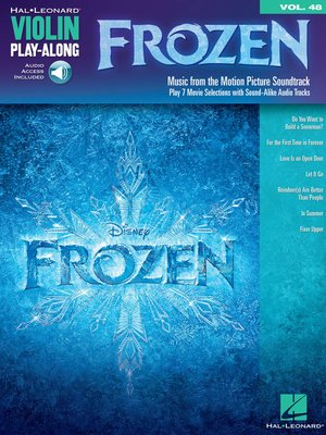 cover image of Frozen--Violin Play-Along