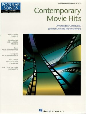 cover image of Contemporary Movie Hits (Songbook)