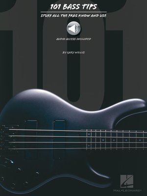 cover image of 101 Bass Tips