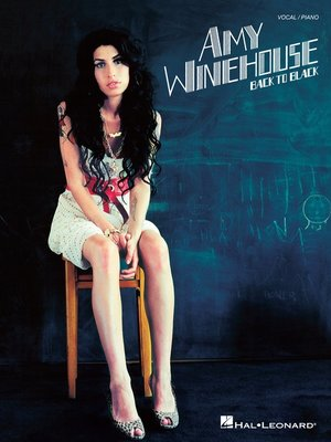 cover image of Amy Winehouse--Back to Black (Songbook)