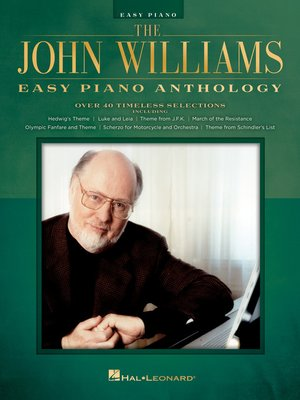 cover image of The John Williams Easy Piano Anthology