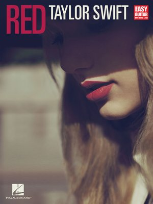 cover image of Taylor Swift--Red (Songbook)