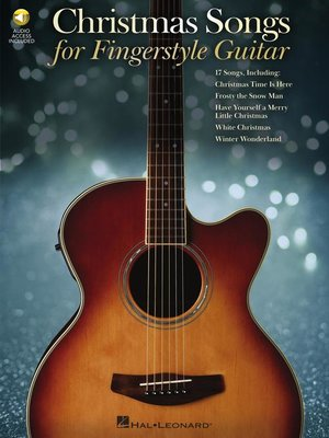 cover image of Christmas Songs for Fingerstyle Guitar Songbook