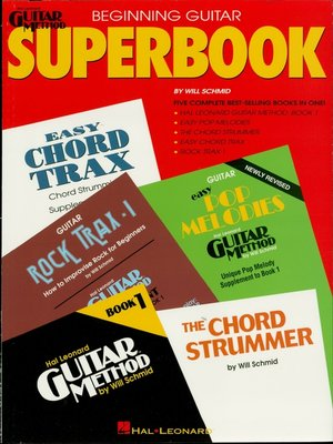 cover image of The Hal Leonard Beginning Guitar Superbook (Guitar Instruction)