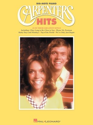 cover image of Carpenters Hits (Songbook)