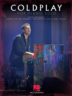 cover image of Coldplay for Piano Solo